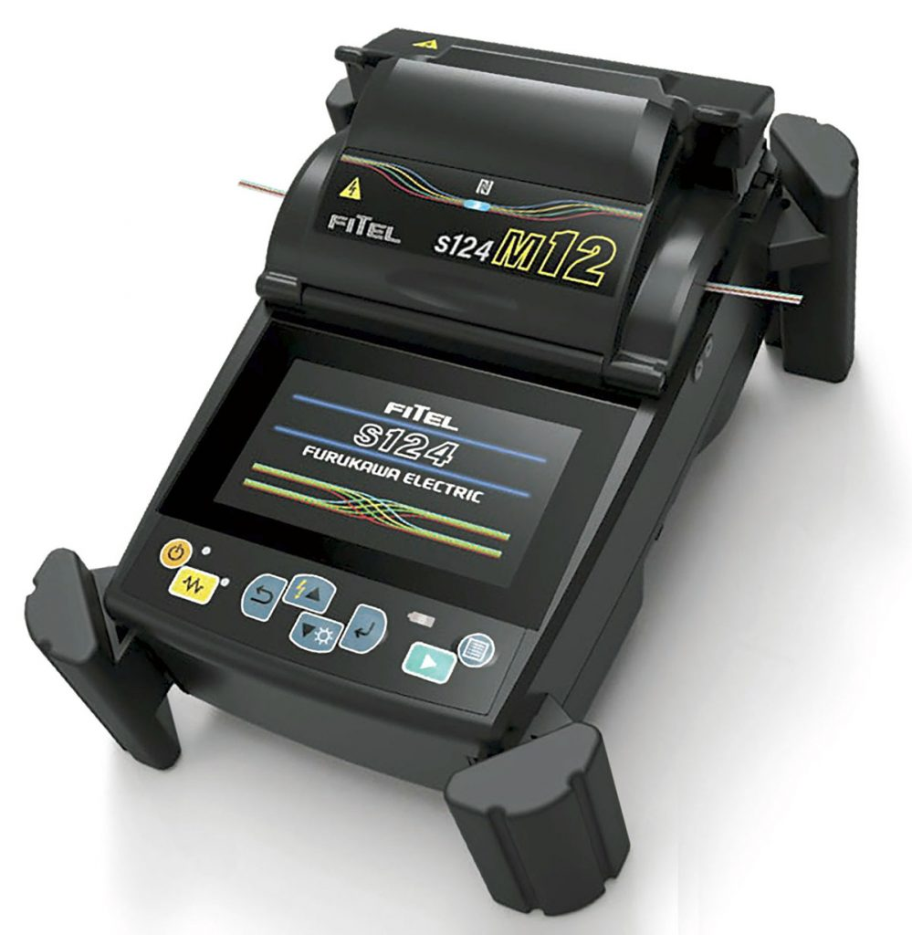 Fitel S124M12 Ribbon Splicer