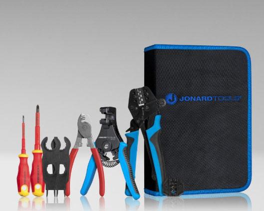 Jonard SPK-100 Solar Panel Crimping Tool Kit