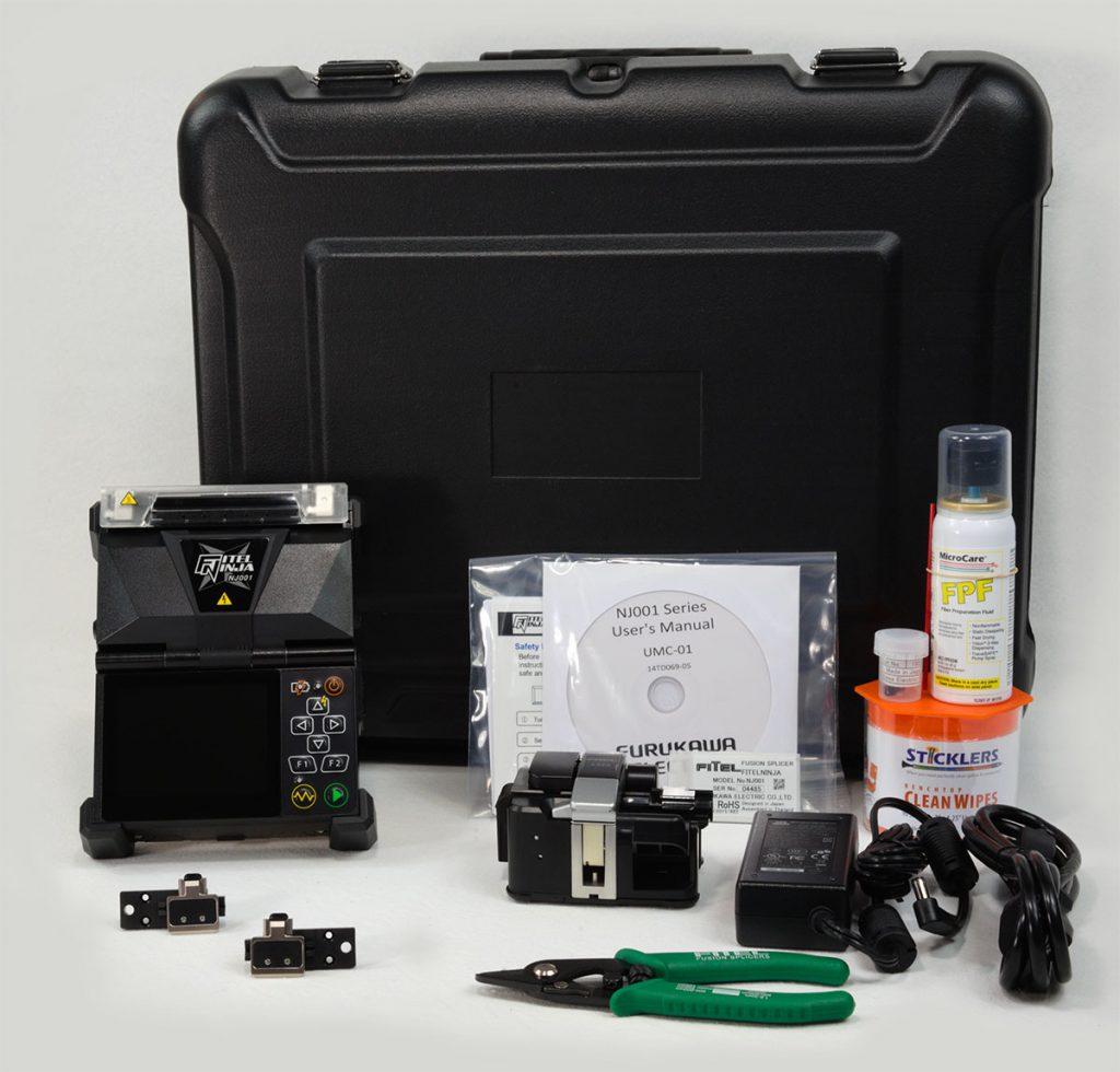 Fitel NJ001-3-EX-10-V1 Fusion Splicer Kit