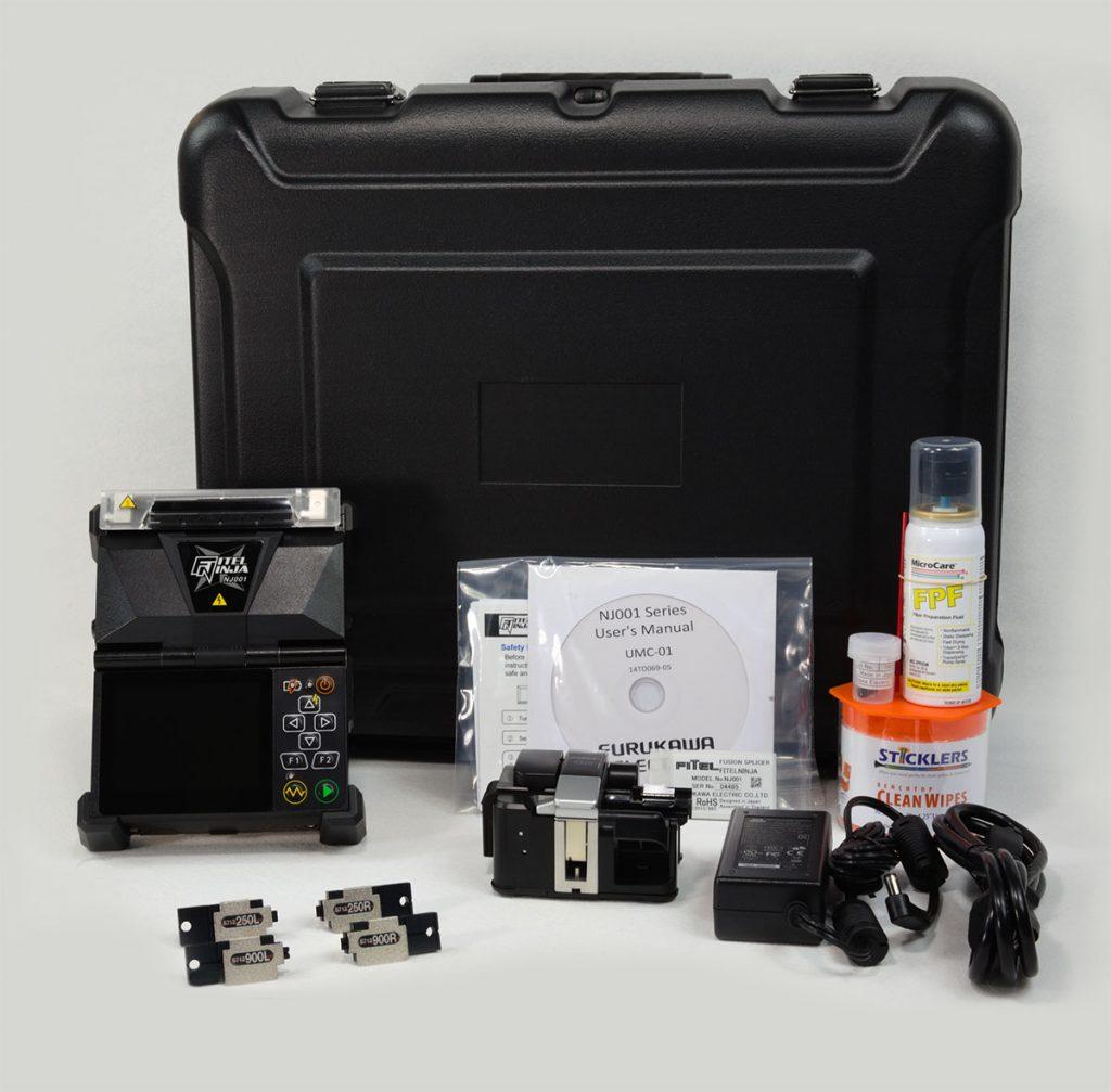 Fitel NJ001-3-EX-900-V1 Fusion Splicer Kit
