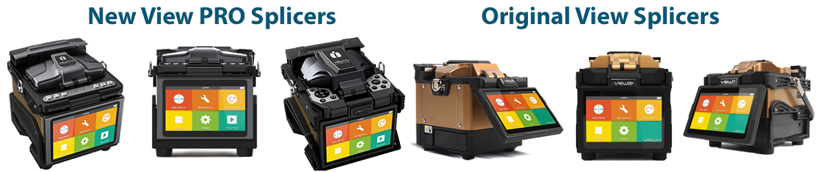 INNO View Fusion Splicers -with View PRO Series